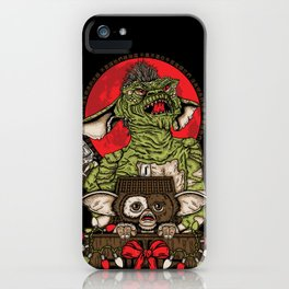 Never Feed Them After Midnight iPhone Case
