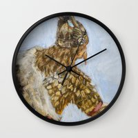 viking Wall Clocks featuring Viking by VAWART