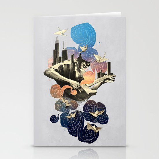 Lake and Sky Stationery Cards