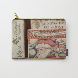 Christmas design with gift boxes Carry-All Pouch