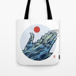 The Welcoming Sea Tote Bag