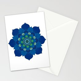Sea Mandala Stationery Cards