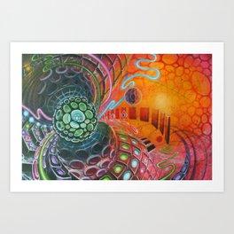 Master of Ceremonies Art Print
