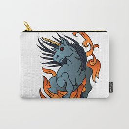 unicorn old school tattoo. Carry-All Pouch