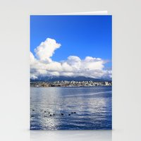 vancouver Stationery Cards featuring North Vancouver by Chris Root