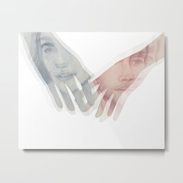 Just Give Me Moments, Not Hours or Days  Metal Print