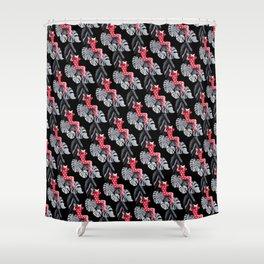 Jungle Cat Woman Shower Curtain