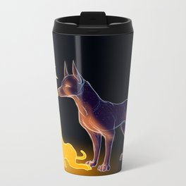 The Sun and the Moon Metal Travel Mug