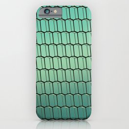 Harpa Reflections pattern iPhone Case