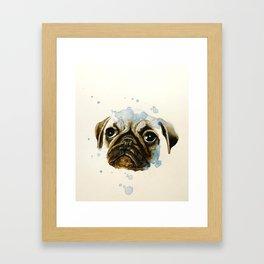 Pug 2 Framed Art Print