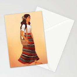Maldivian Girl Stationery Cards