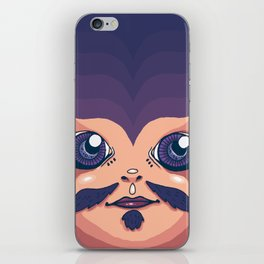 gypsy man iPhone Skin