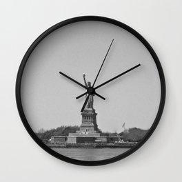 lady lib Wall Clock