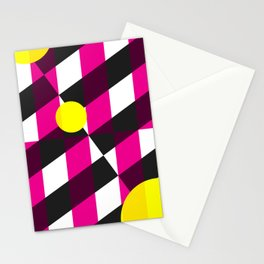 Material Pattern 101 Stationery Cards