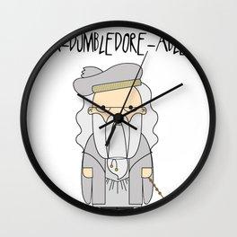 A-DUMBLEDORE-ABLE.  Wall Clock