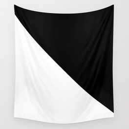 Black and White Design Wall Tapestry
