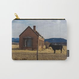 Abandoned in Cow Field Carry-All Pouch