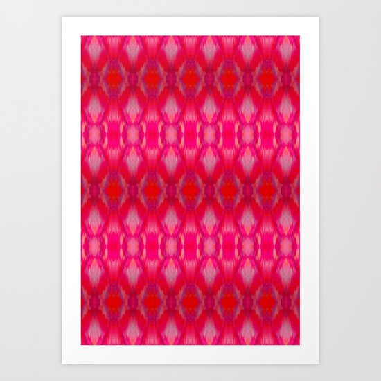 Ikat Art Print