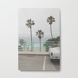 Cruisin Manhattan Beach Metal Print