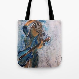 rock and roll goddess Tote Bag