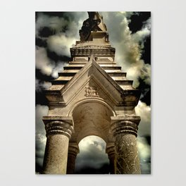 thousand years series (temple) Canvas Print