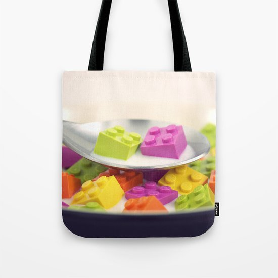 A Balanced Brickfast Tote Bag