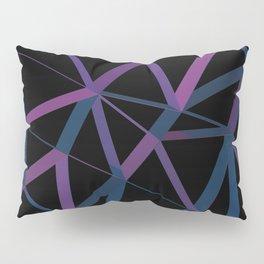 3D Futuristic GEO Lines Pillow Sham