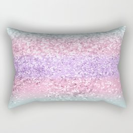 Unicorn Girls Glitter #8 #shiny #pastel #decor #art #society6 Rectangular Pillow