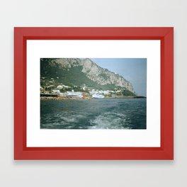 Capri 1 Framed Art Print