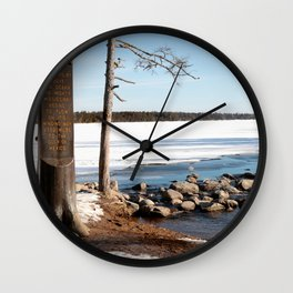 Mississippi Headwaters in March 2016 Wall Clock