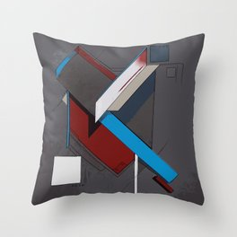 Thoughts as Objects Throw Pillow