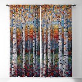 Aspen Fall by OLena Art  Blackout Curtain