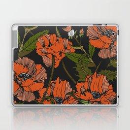 Autumnal flowering of poppies Laptop & iPad Skin