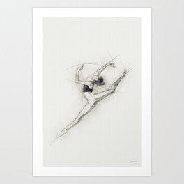 Just dance ... Art Print