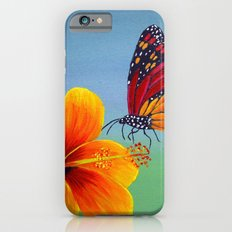 Lily with Butterfly Slim Case iPhone 6s