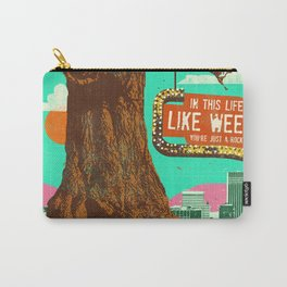 LIFE LIKE WEEDS Carry-All Pouch