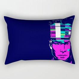 mnemonic_data_overload_ Rectangular Pillow