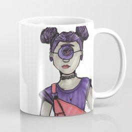 Grunge Cyclops Coffee Mug