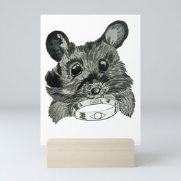 Mouse with the Ring Mini Art Print