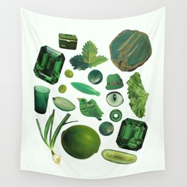 GREEN Wall Tapestry