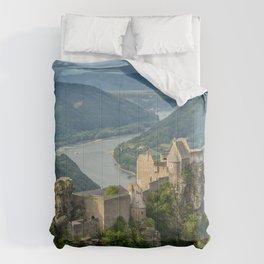 Castle Ruins of Aggstein, Wachau (Austria) Comforters