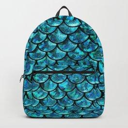 Mermaid Scales Design Backpack