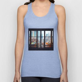 New York City Window Unisex Tank Top