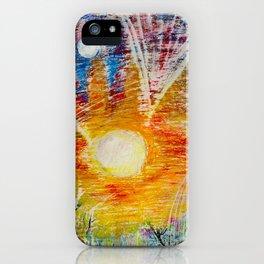 Sun Child iPhone Case