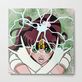 Sailor Mercury Metal Print