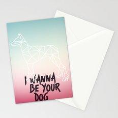 I Wanna Be Your Dog Stationery Cards
