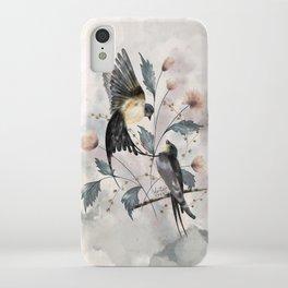 Sweet Barn Swallow Birds iPhone Case