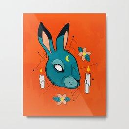 Magic Rabbit Metal Print