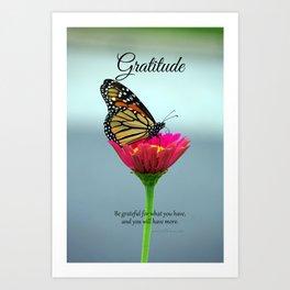 Gratitude Art Print