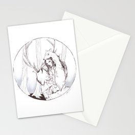 Huntress Stationery Cards